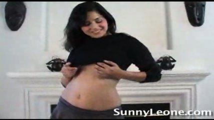Sunny Leone alone at Home - scene 1