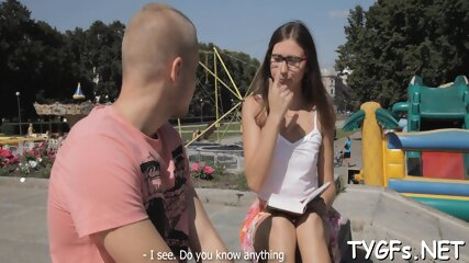 Voracious russian brunette Alice Marshall actively fucked