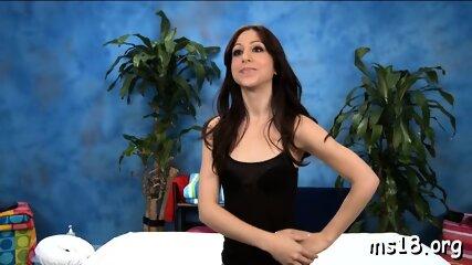 Amazing Brunette Floozy Alexa Rydell Erotically Teases