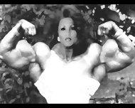 Female Bodybuilding Fbb Bodybuilder Muscle Art