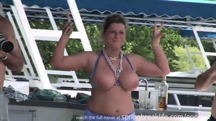 Topless Slide On The Lake - scene 4