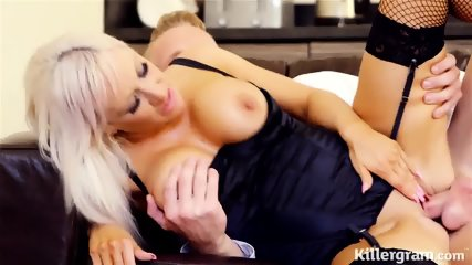 Elegant Slut Rides Her Customer's Dick - scene 8