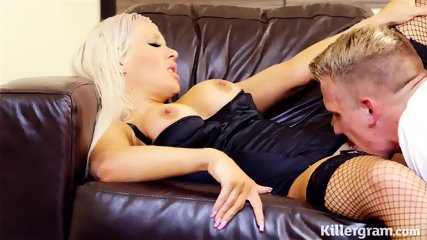 Elegant Slut Rides Her Customer's Dick - scene 10