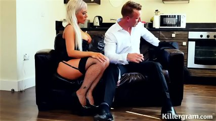 Elegant Slut Rides Her Customer's Dick - scene 3