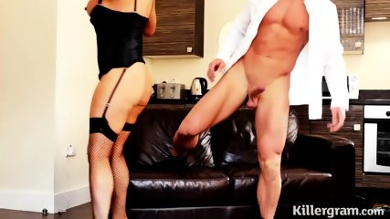 Elegant Slut Rides Her Customer's Dick - scene 7