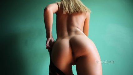Striptease Of Hot Blonde - scene 6