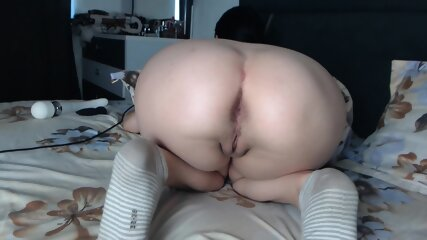 American Girl Smeillh Eingelsh (19) Show Perfect & Juicy Booty In Doggy