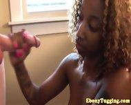 Tattooed Ebony Nubian Skank Pov Tugging