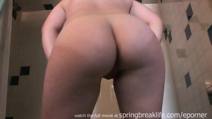 Club Girl Shower And Masturbate - scene 1