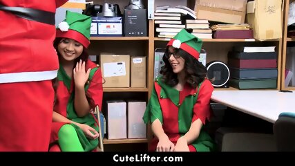 Two Thieving Elves Fucked By Santa_ 2