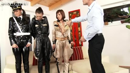 Kinky Officers Fucked In Asses - scene 1