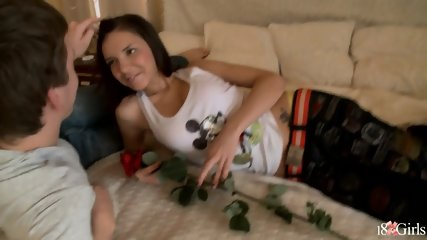 Teen Brunette Anal Sex With Boyfriend - scene 2