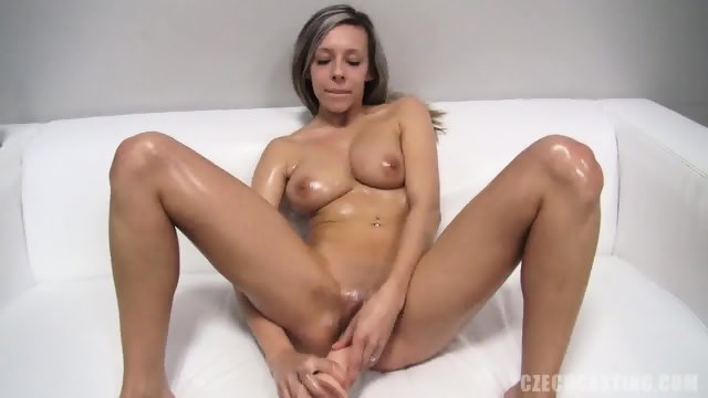 Dildo In Amateur Girl's Pussy