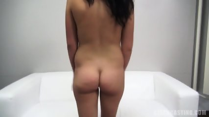 Charming European Amateur Rides Dick At The Casting - scene 5