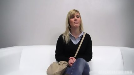 Blonde Abused At The Casting - scene 1