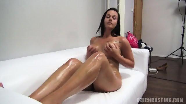 MIchaela Shows Her Round Body