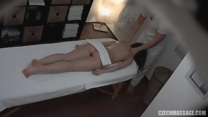 Amateur Babe Gets Abused During Massage - scene 2