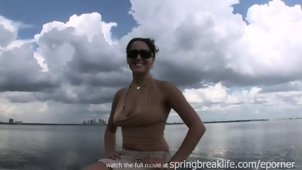Latina Flashes By The Water - scene 5