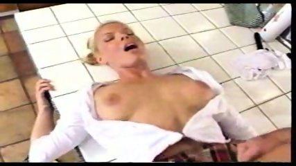 Blond Student has Sex in Kitchen - scene 11