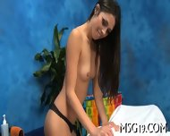 Babe Fucked On A Massage Table - scene 9