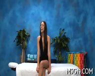 Babe Fucked On A Massage Table - scene 3