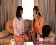 Japanese Mature Receives Oral From Babe - scene 4