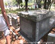 Naked In A Graveyard - scene 1