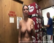 Naked And Pee In Liquor Store - scene 10