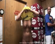 Naked And Pee In Liquor Store - scene 11