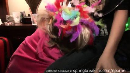 Mardi Gras Girl Girl Makeout - scene 3