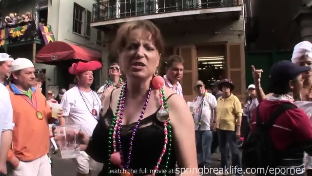 Hotel Room Referee And Mardi Gras Flashers.mp4