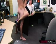Sexy Cooz Selling A Stolen Old Bugle Gets Fucked By Shop Owner - scene 8