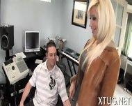 Horny Bitch Adores Hot Handjobs - scene 3