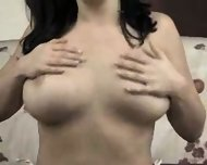 Amateur - Lovely tits masturbating