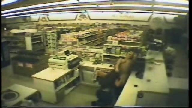 Security Cam - Lesbian clerks