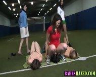 Sorority Teen Lesbian - scene 1