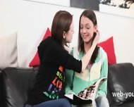 Two Incredible Girl4girl With Toy - scene 2