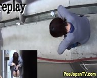 Asians Pee In Alley Way - scene 6
