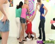 Teen Babe Fucks Dildo - scene 10