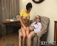 Teacher Is Fucking Young Babe - scene 8