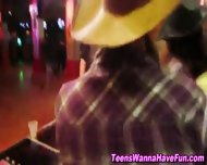 Lesbian Teens Public Kiss - scene 11