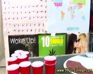 College Teen Stroking - scene 2