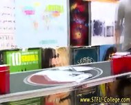 College Teen Stroking - scene 4