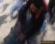 Latina Stripper Mercedes Brutally Fucked At The Border - scene 12