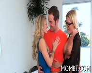 Randy Threesome Banging - scene 8
