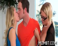 Randy Threesome Banging - scene 9