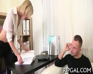 Teen Gets Ass Pounded - scene 3