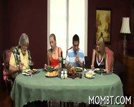 Slutty And Amorous Threesome - scene 1