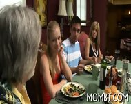 Slutty And Amorous Threesome - scene 2