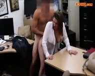 Foxy Huge Boobs Business Lady Screwed Up For Money - scene 9